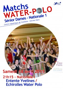 match NI dames 18 avril - Site