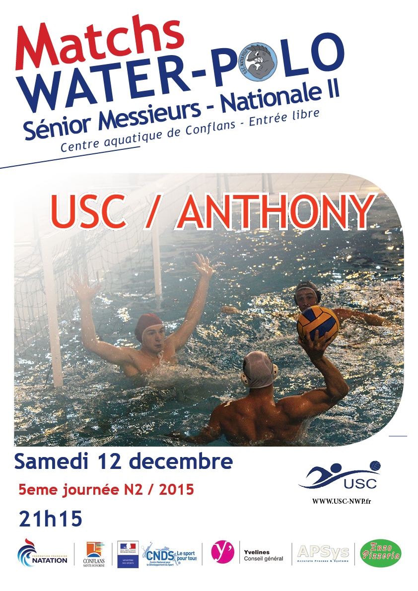 Match 12 décembre USC ANTHONY N2
