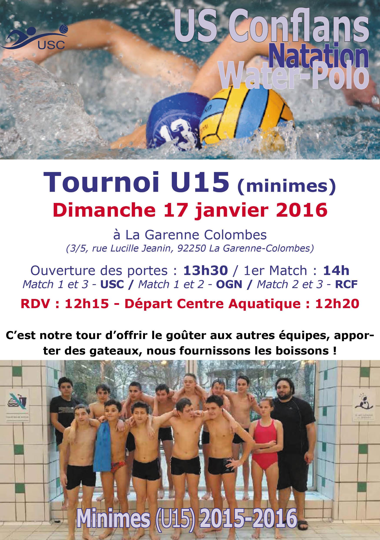 U15 - OGN - 17 janvier 2016