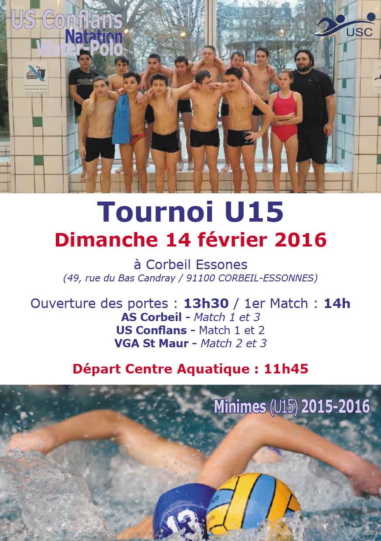 U15 - Corbeil - 14 février 2016