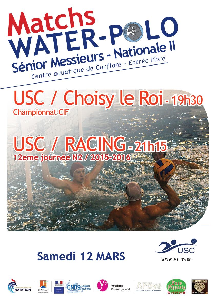 Match 12 mars USC RACING N2
