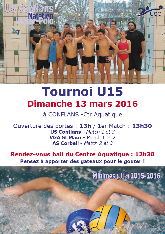 U15 - Conflans- 13 mars 2016