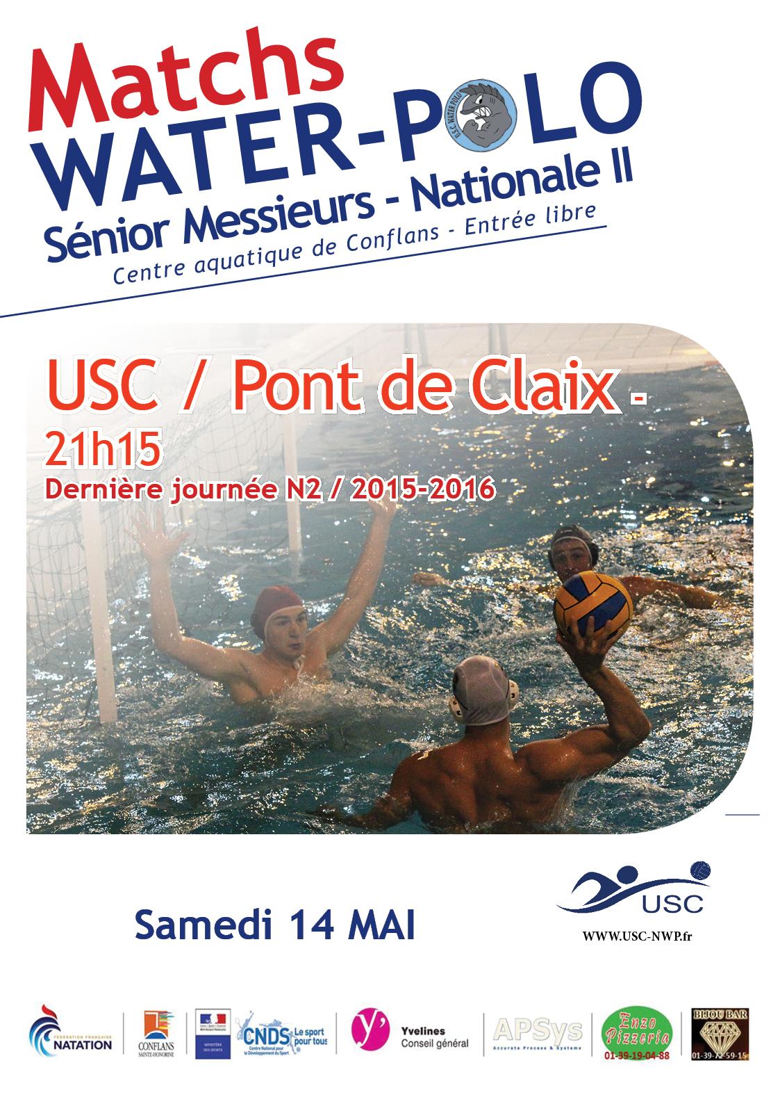 Match 14 mai USC Pont de Claix N2