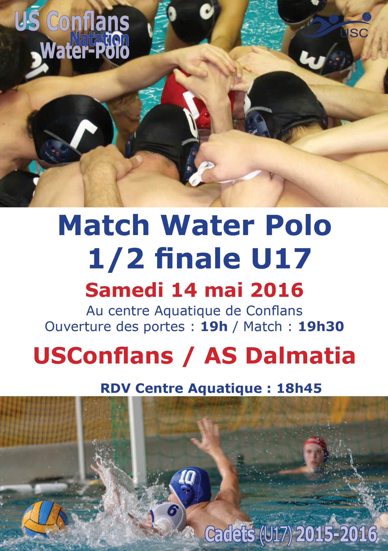 U17 - 14 mai - 1-2 finale - Conflans