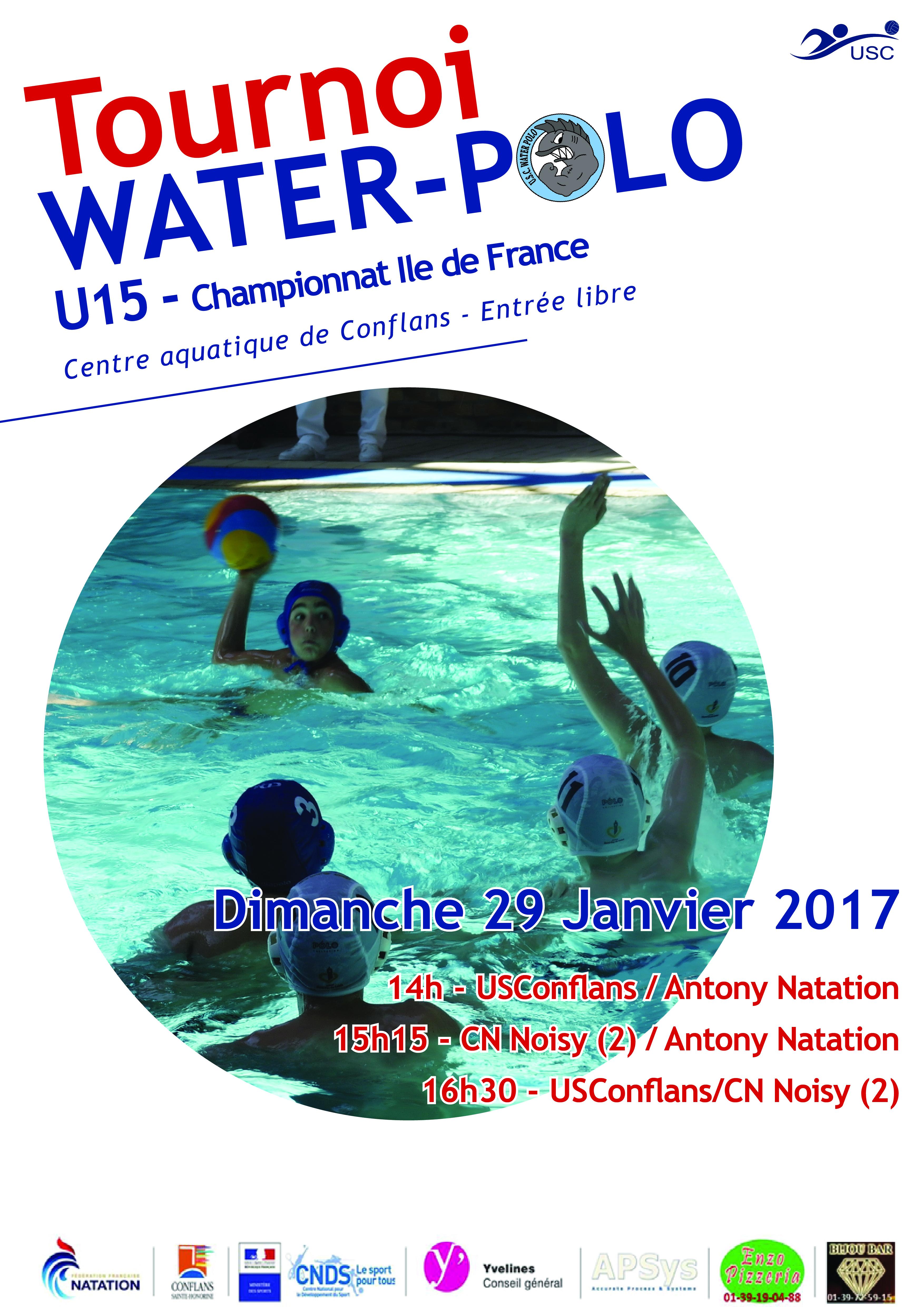 Tournois U15 - 29 Janvier 2017 - Conflans