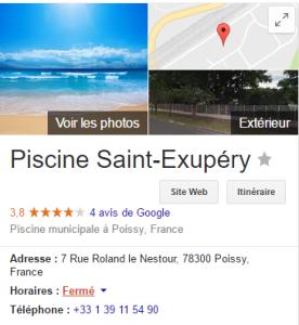 Piscine Poissy St Exupéry
