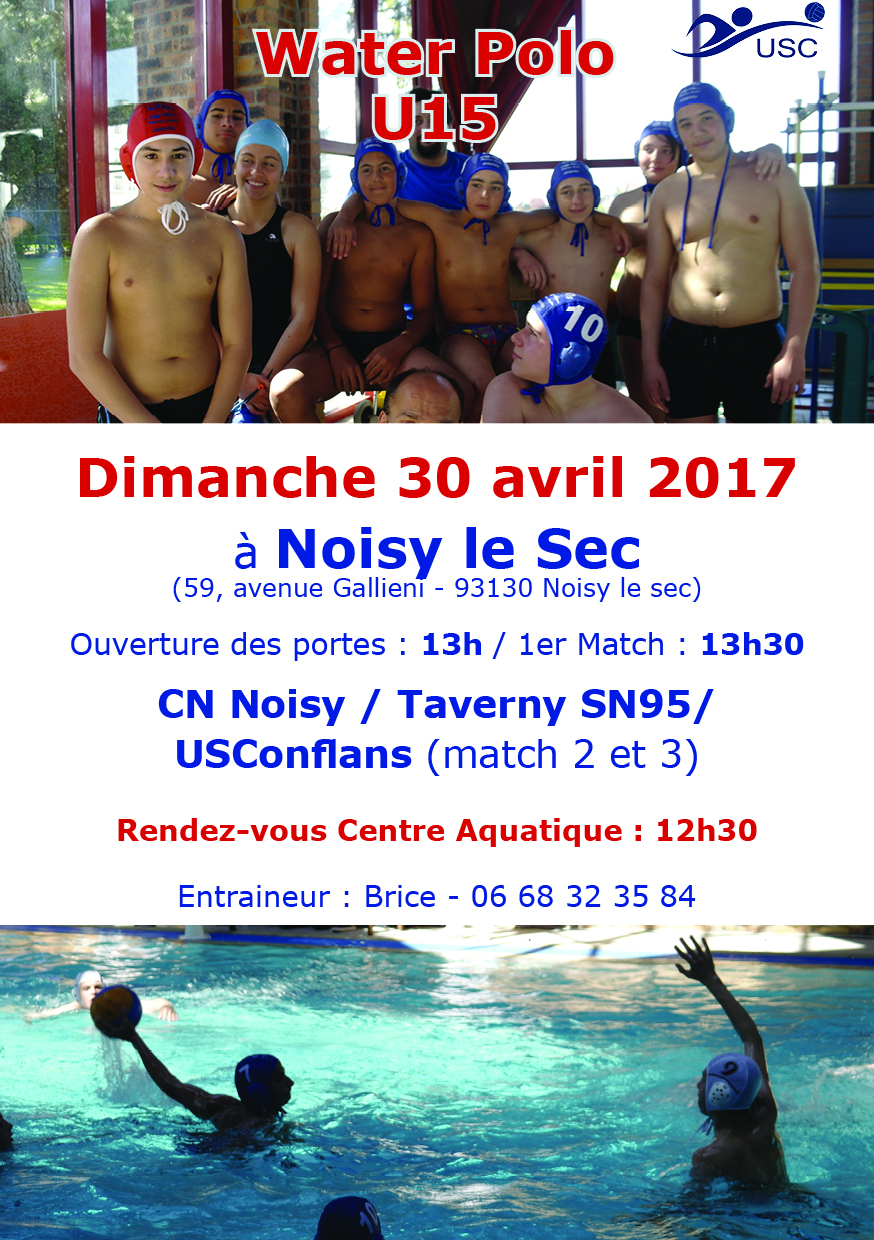 U15 - 30 avril - Noisy