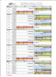 Planning juin 17 Poissy