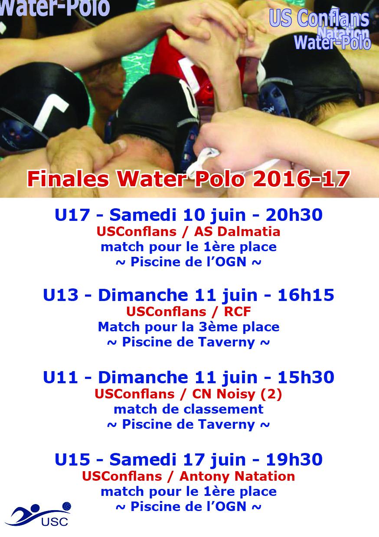 Finales saison 2016-17