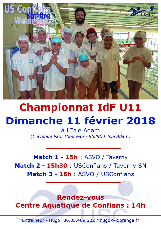 Championnat U11 - 11 février - ASVO