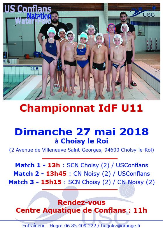 Championnat U11 - 27 mai - Choisy