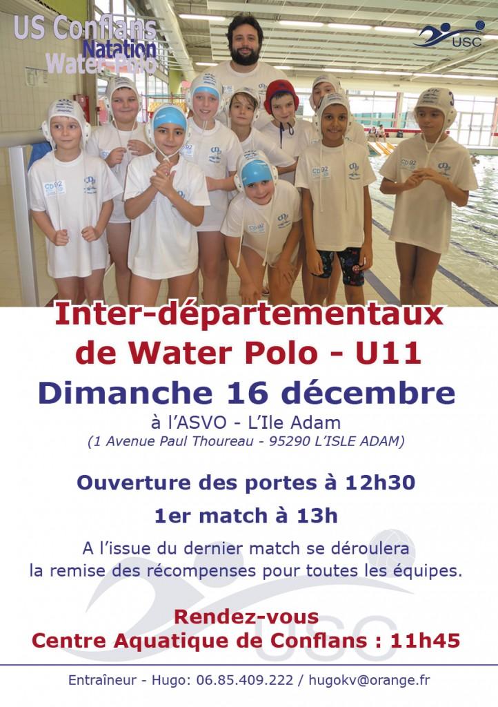 Convoc Interdepartementaux 16 décembre 2018