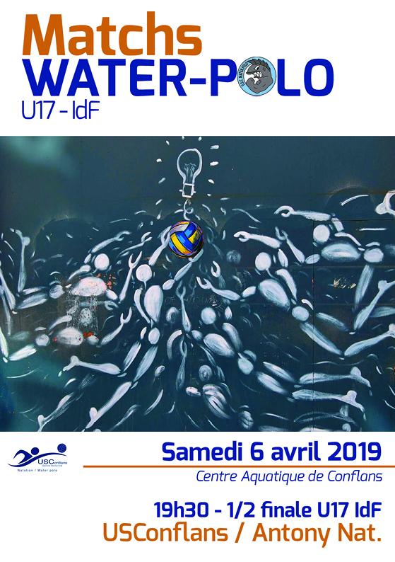 6 avril AFFICHAGE - U17 demi finale aller