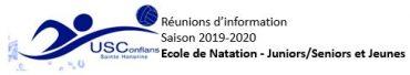 Réunions d'information               Saison 2019-2020